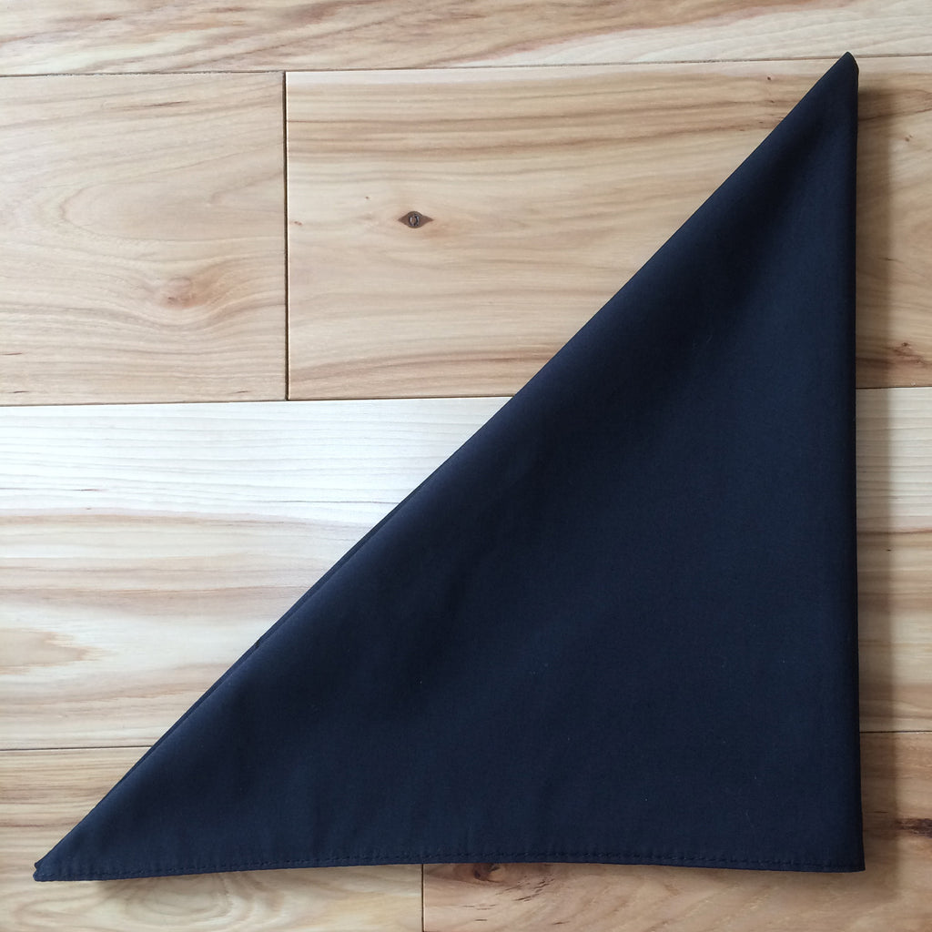 black triangle kerchief - Lennard Taylor
