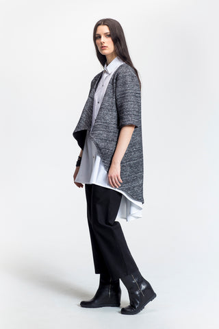 JOJO Coat - Black Wool