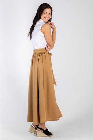 ochre Michelle skirt - side - Lennard Taylor