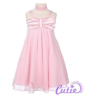 Pink Flower Girl Dress - 03715