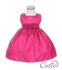 Fuchsia Baby Dress - 0B3047