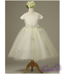 Ivory Flower Girl Dress - 1080