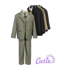 Brown Boys Suit - 0120