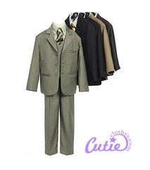 Tan Boys Suit - 0120