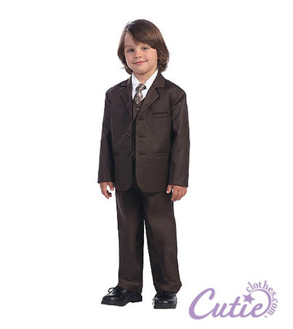 Brown Boys Suit - 3710