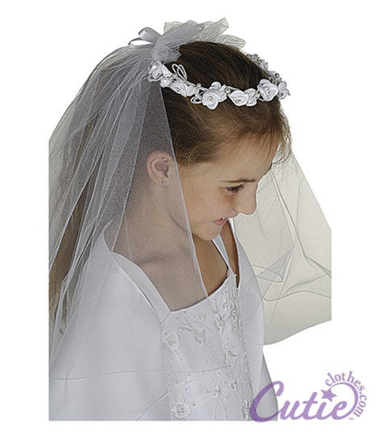 Girls Crown Veil - M8199