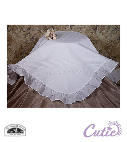 Cotton Christening Blanket - 1CAG2BK