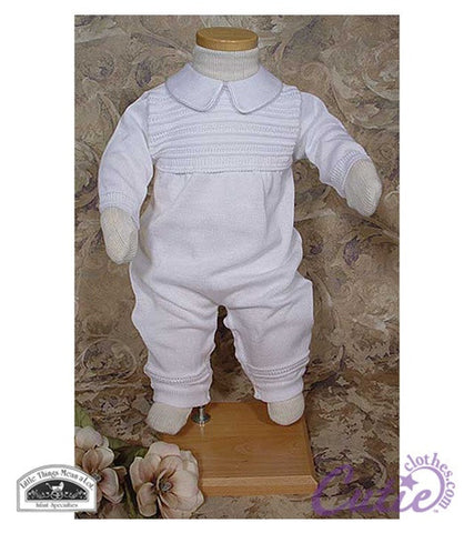 Boys Christening Outfit - CKNIT1