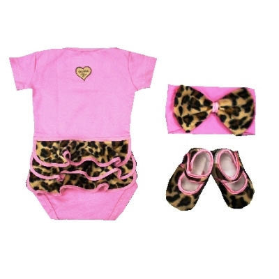 Baby Gift Set Lollipop Leopard - GS001LL