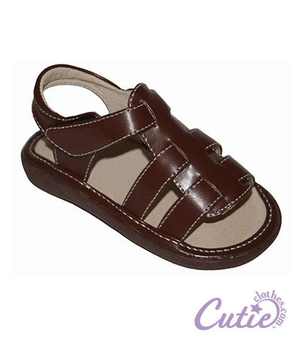 Brown Baby Sandals - Connor