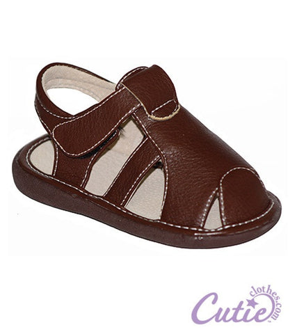 Brown Toddler Sandal - Easton