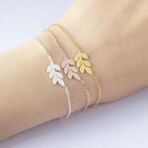 Leaf Statement Bracelet