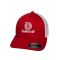 Red and White Flexfit Spikeball Hat