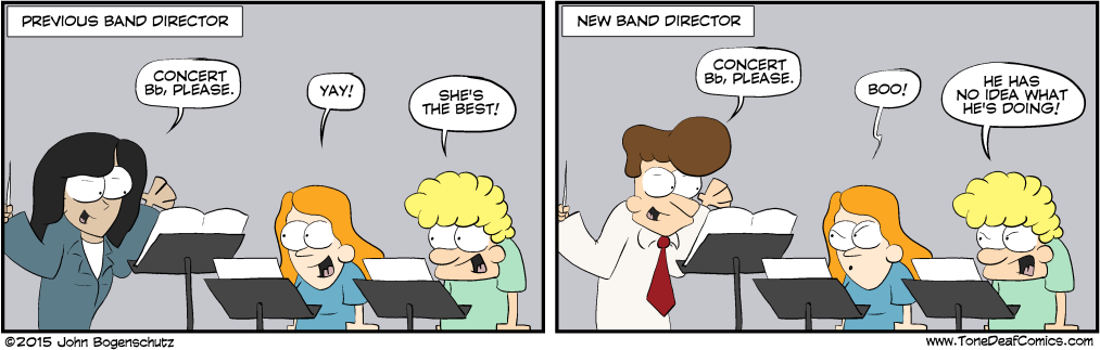 New Band Director