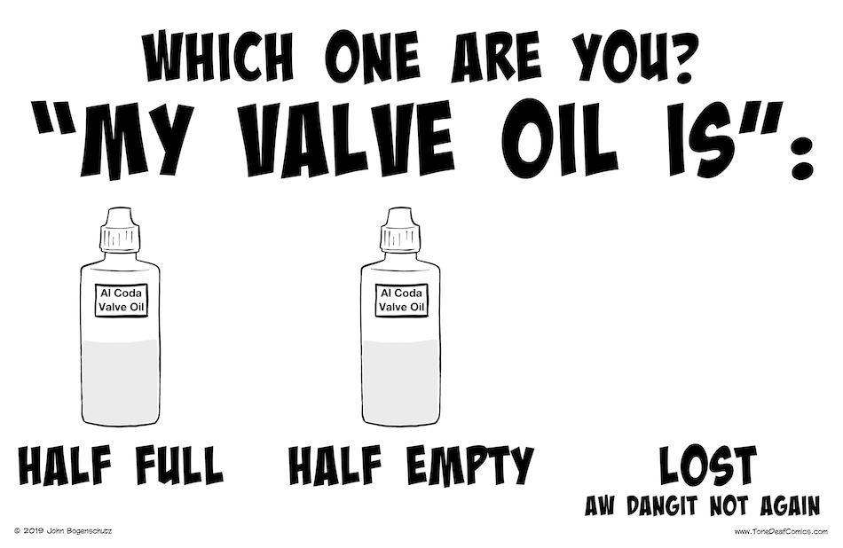 Which Valve Oil Are You?