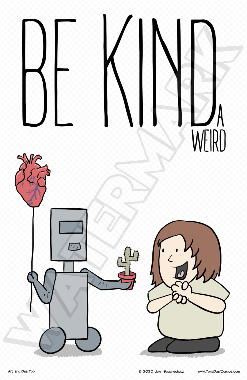 Be Kinda Weird