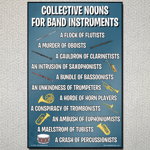 Collective Nouns for Band Instruments