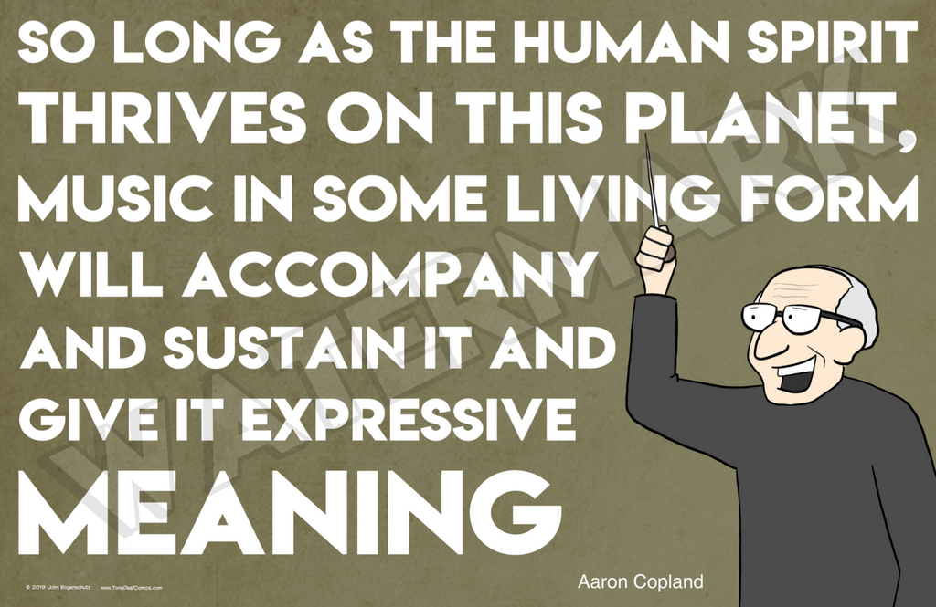 Copland Quote