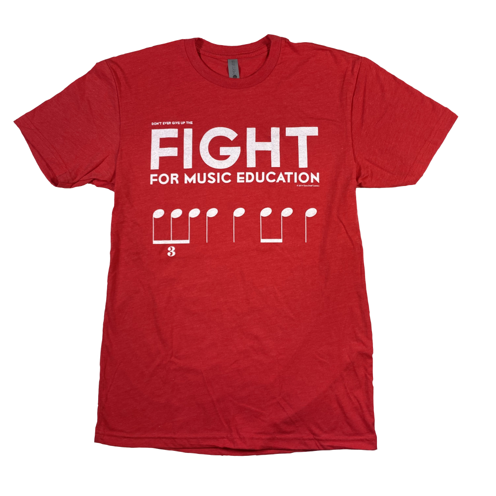 Fight for Music Education Shirt