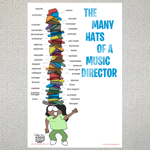The Many Hats of a Music Director