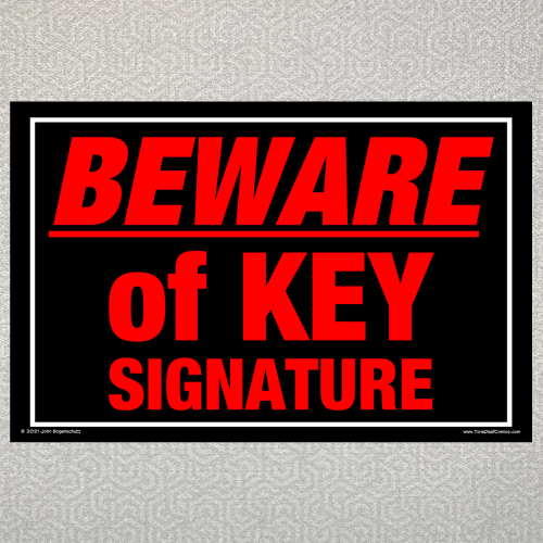Beware of Key Signature