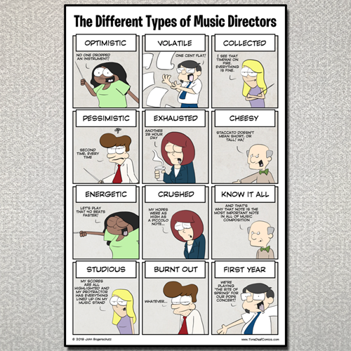 The Different Types of Music Directors
