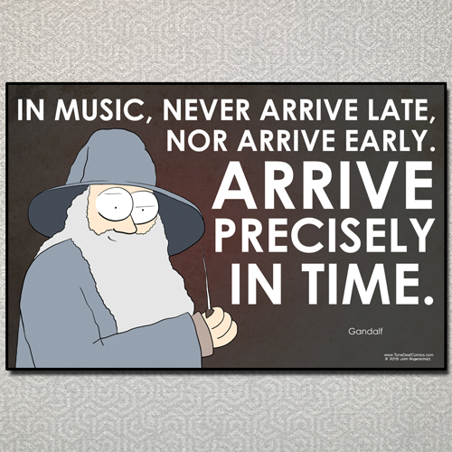 Gandalf Time Quote