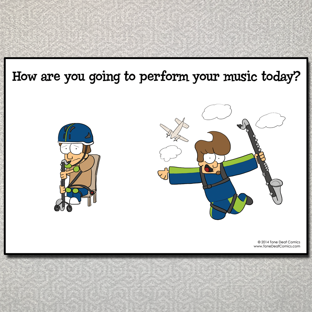 How Will You Perform Your Music Today?