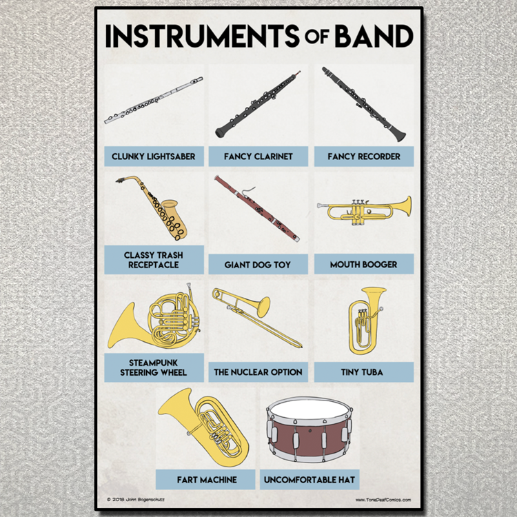 Instruments of Band