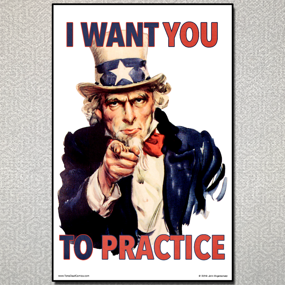 I Want You to Practice