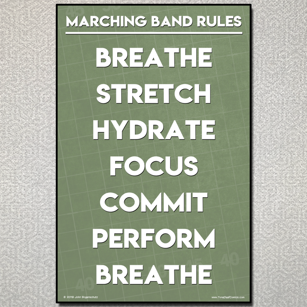 Marching Band Rules