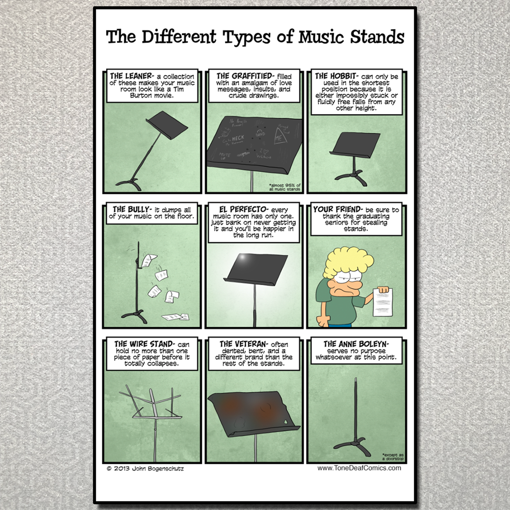 The Different Types of Music Stands