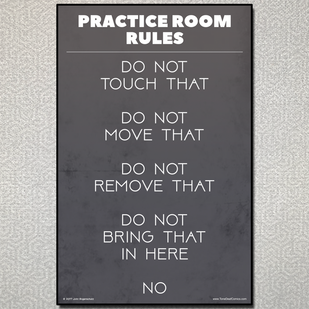 Practice Room Rules