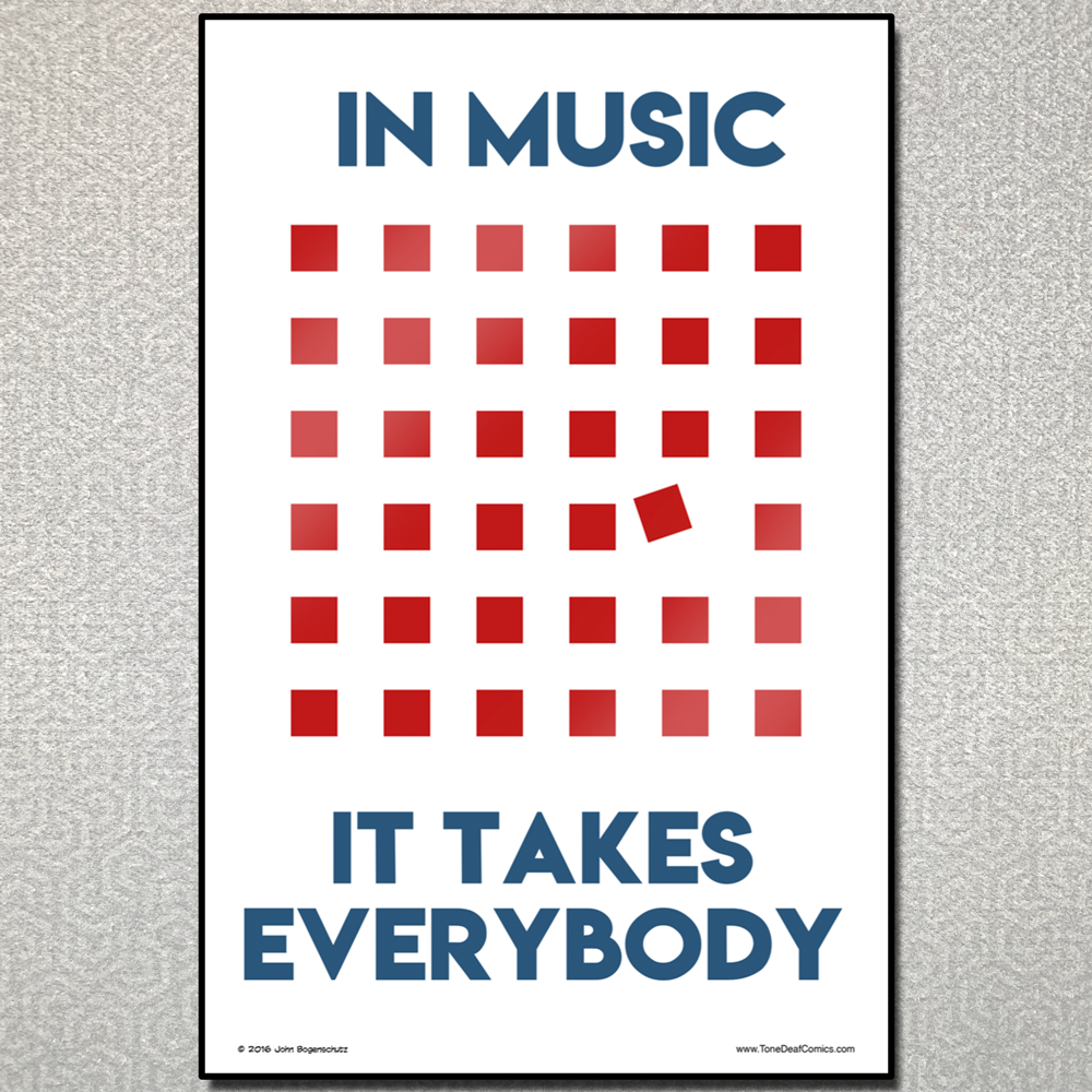 In Music It Takes Everybody