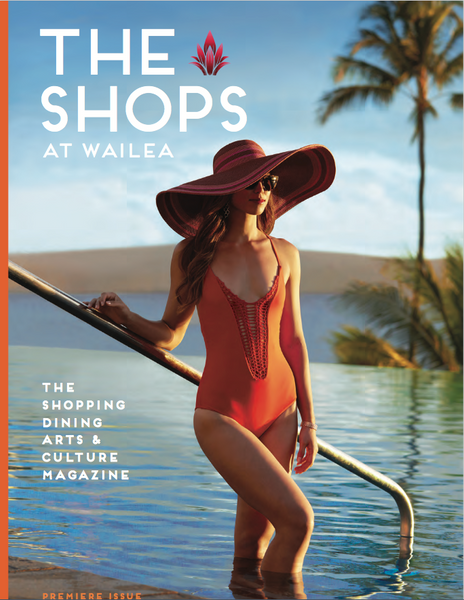 The Shops of Wailea Fall 2016 Cover featuring Keani Jewelry