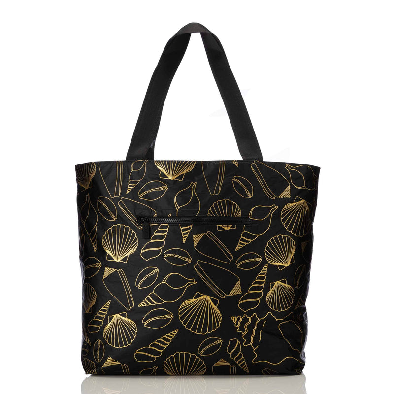 Seashore Day Tripper Tote Gold / Black