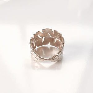 Keani Jewelry Lush Banana Leaf Ring, Maui, Hawaii