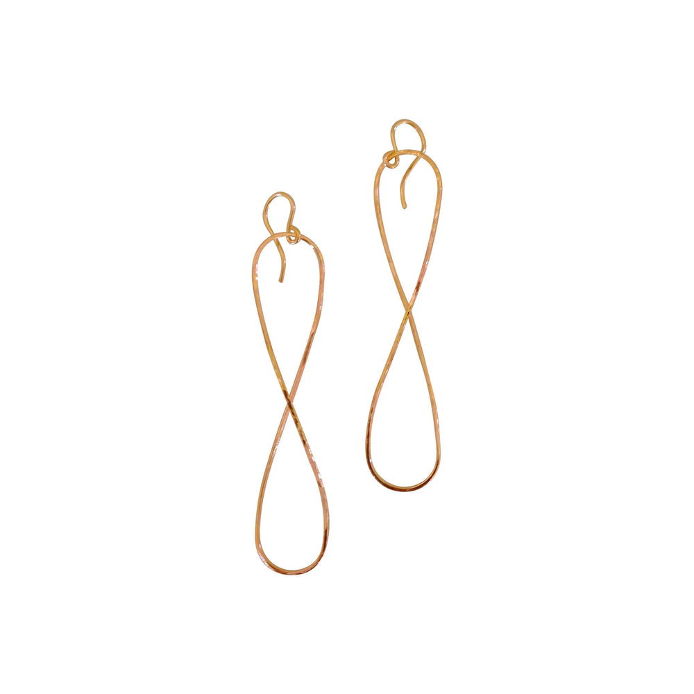 KEANI SHAPELY >> Infinity Earrings, Keani Jewelry
