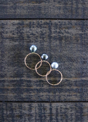 Tiare Tahitian Pearl Ring, Designed by Keani Hawaii