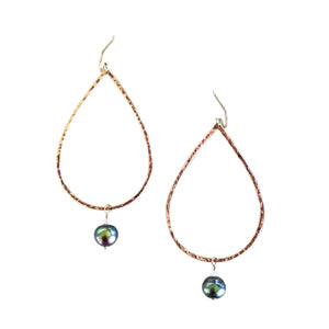 Tahitian Tears Earrings - Keani Jewelry