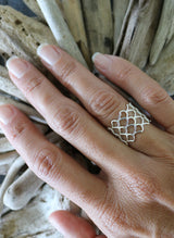Mermesh Mermaid Ring, Keani Jewelry