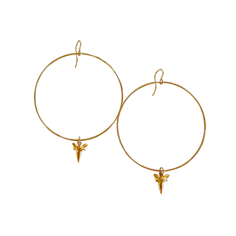 Tooth Hoops - Keani Jewelry