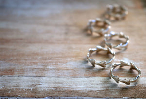 Shark Tooth Stacking Ring by Keani Jewelry