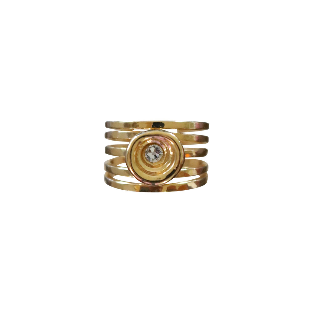 Puka Shimmer Ring - Keani Jewelry