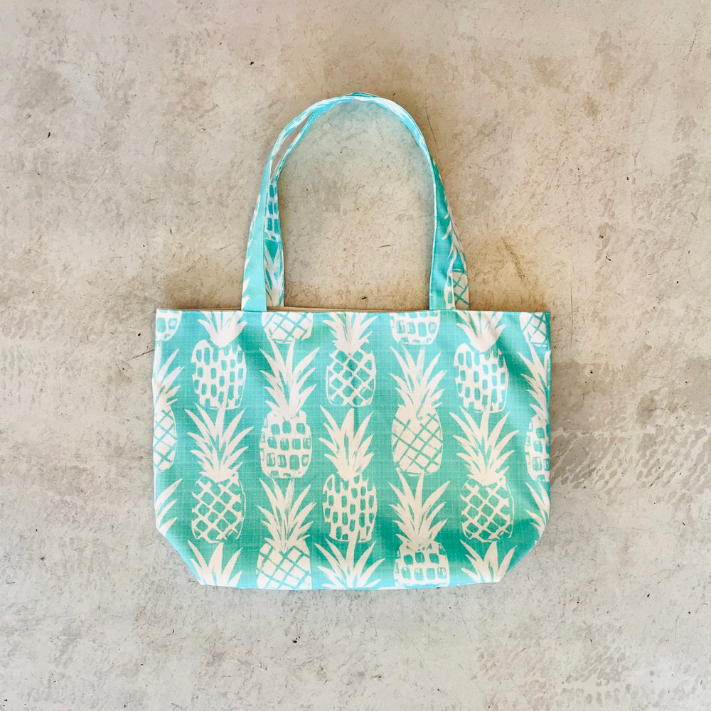 Pineapple Tote Bag / Mint