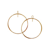 RUSTIC ROUNDS Hoop Earrings- Keani Jewelry Maui, Hawaii