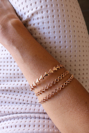 Salty Scales Bangle - Keani Jewelry