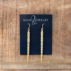 Olowalu Urchin Spike Earrings, Keani Jewelry