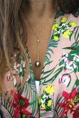 Huahine Tahitian Pearl Necklace, Designed by Keani Hawai'i