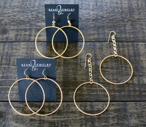 Enchanted Dropped Hoops
